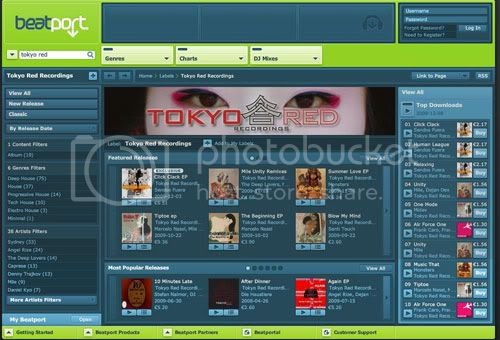 TokyoRed beatport
